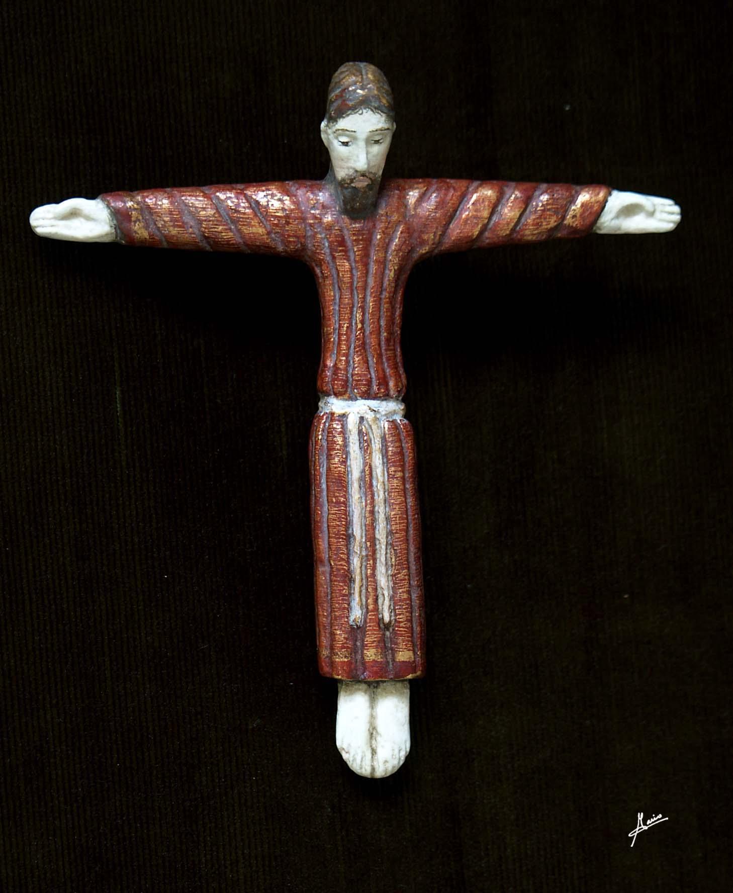 Cristo románico catalán