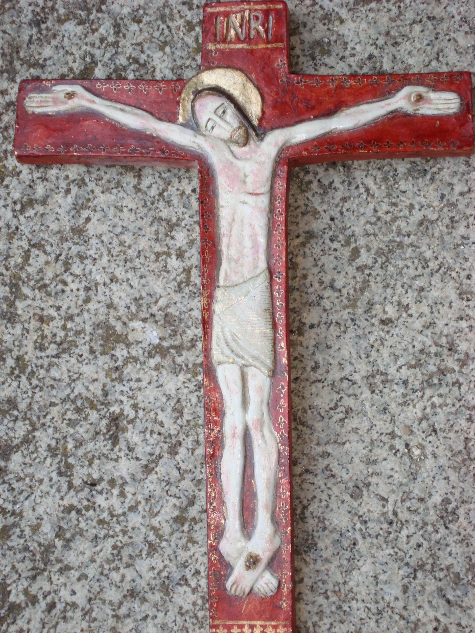 Cristo nuevo con cruz