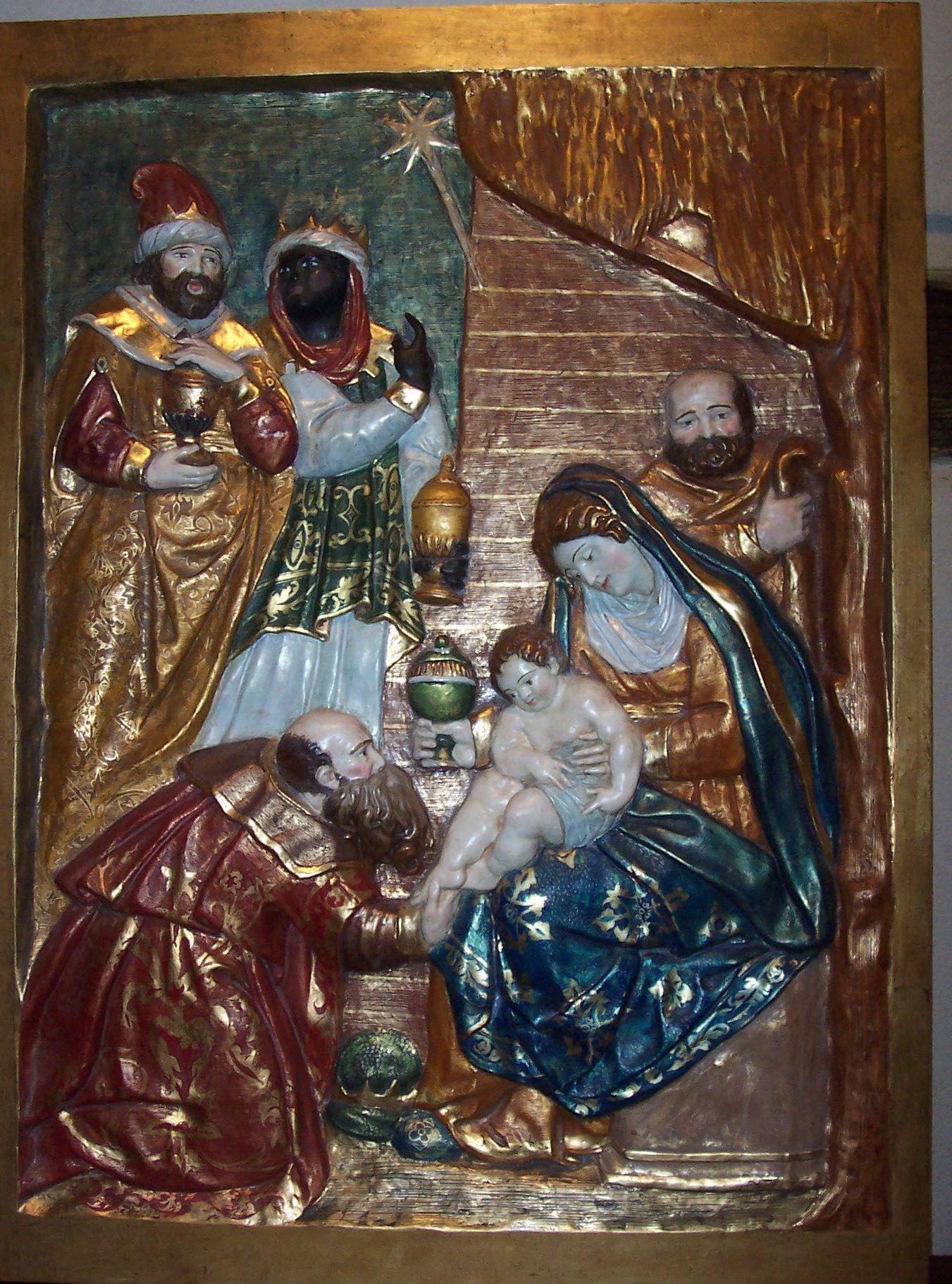 Retablo dominicas adoración