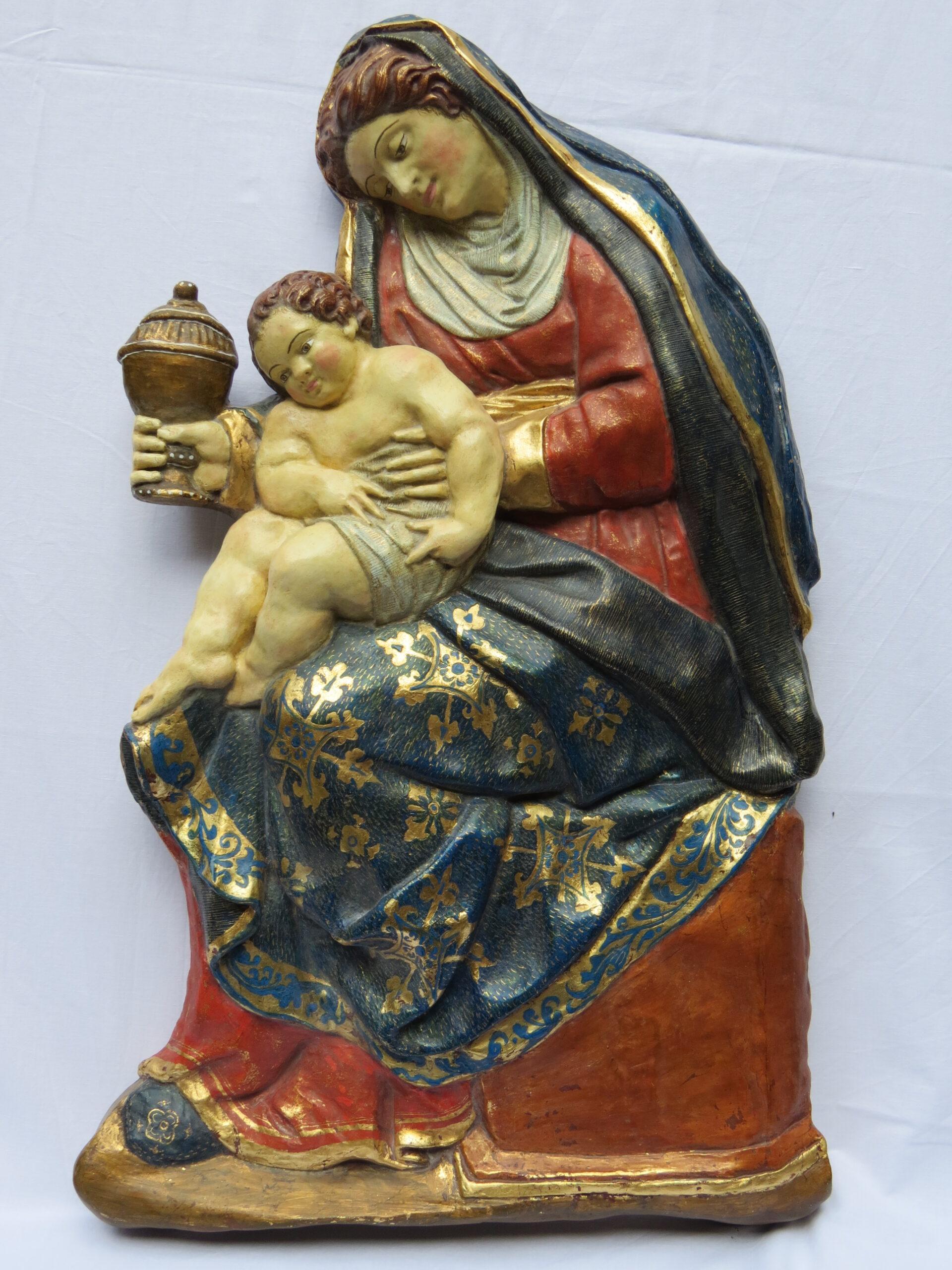 Virgen del retablo