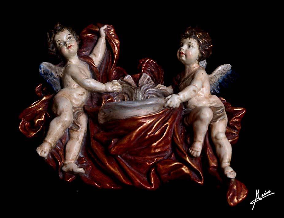 dos ángeles grande